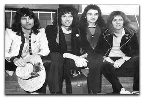 Queen in 1974 Canvas Print or Poster  - Canvas Art Rocks - 1