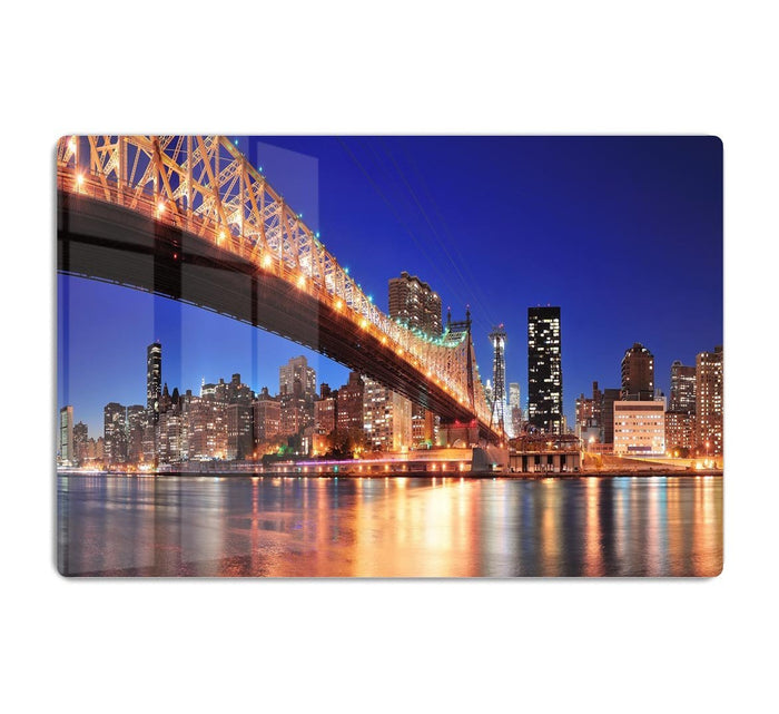 Queensboro Bridge over New York HD Metal Print