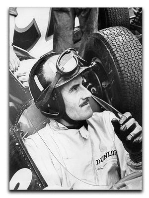 Racing driver Graham Hill Canvas Print or Poster  - Canvas Art Rocks - 1
