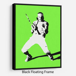 Rafael Nadal Floating Frame Canvas