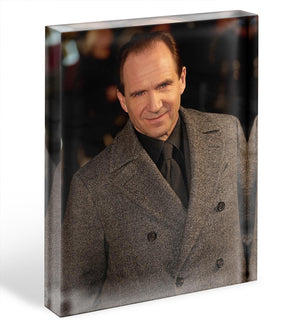 Ralph Fiennes Acrylic Block - Canvas Art Rocks - 1