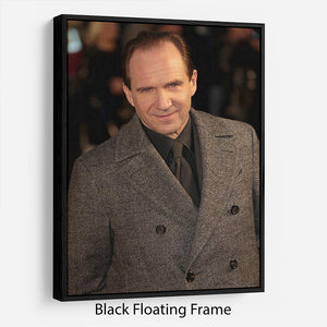 Ralph Fiennes Floating Frame Canvas - Canvas Art Rocks - 1