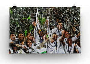 Real Madrid Champions League 2017 Canvas Print & Poster - Canvas Art Rocks