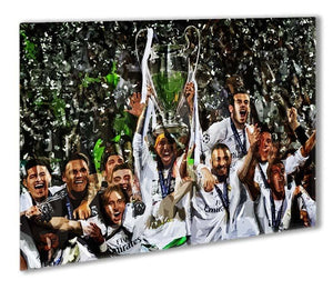 Real Madrid Champions League 2017 Outdoor Metal Print - Canvas Art Rocks - 1