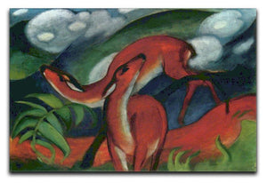 Red Deer II by Franz Marc Canvas Print or Poster  - Canvas Art Rocks - 1