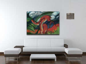 Red Deer II by Franz Marc Canvas Print or Poster - Canvas Art Rocks - 4