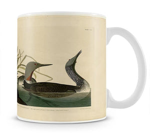 Red Throated Diver by Audubon Mug - Canvas Art Rocks - 1