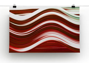Red Wave Canvas Print or Poster - Canvas Art Rocks - 2