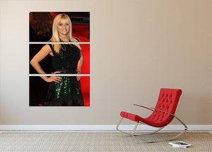 Reese Witherspoon Red Carpet 3 Split Panel Canvas Print - Canvas Art Rocks - 2