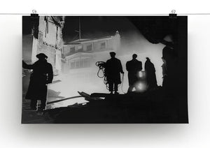 Rescuers in Soho London Canvas Print or Poster - Canvas Art Rocks - 2