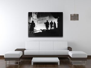 Rescuers in Soho London Canvas Print or Poster - Canvas Art Rocks - 4