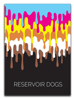Reservoir Dogs Minimal Movie Canvas Print or Poster  - Canvas Art Rocks - 1