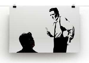 Reservoir Dogs Black and White Print - Canvas Art Rocks - 2