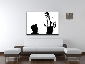 Reservoir Dogs Black and White Print - Canvas Art Rocks - 4