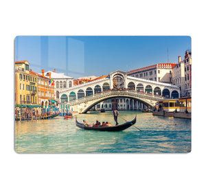 Rialto Bridge Venice HD Metal Print
