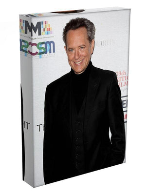 Richard E Grant in black Canvas Print or Poster - Canvas Art Rocks - 3