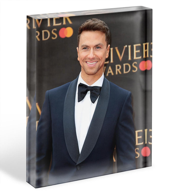Richard Fleeshman Acrylic Block