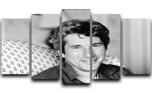 Richard Gere 5 Split Panel Canvas  - Canvas Art Rocks - 1
