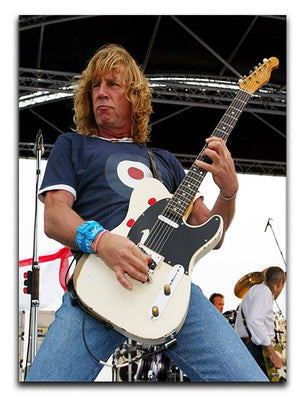 Rick Parfitt of Status Quo Canvas Print or Poster - Canvas Art Rocks - 1