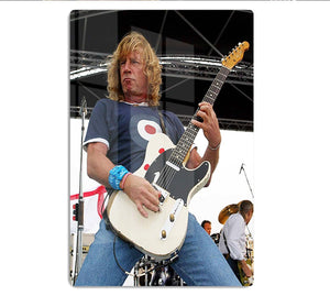 Rick Parfitt of Status Quo HD Metal Print - Canvas Art Rocks - 1