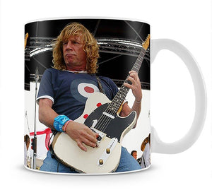 Rick Parfitt of Status Quo Mug - Canvas Art Rocks - 1