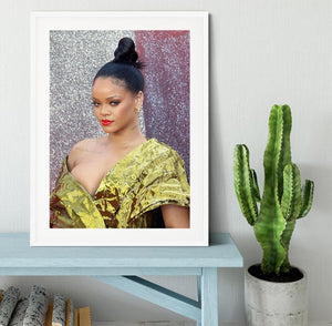 Rihanna goes formal Framed Print - Canvas Art Rocks - 5
