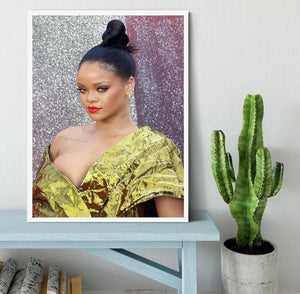Rihanna goes formal Framed Print - Canvas Art Rocks -6