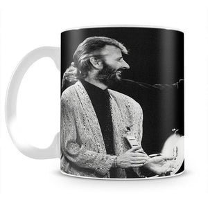 Ringo Starr and George Harrison in 1988 Mug - Canvas Art Rocks - 2