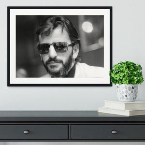 Ringo Starr former Beatle Framed Print - Canvas Art Rocks - 1