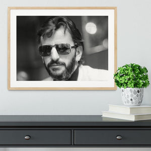 Ringo Starr former Beatle Framed Print - Canvas Art Rocks - 3