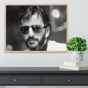Ringo Starr former Beatle Framed Print - Canvas Art Rocks - 4