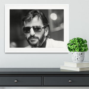 Ringo Starr former Beatle Framed Print - Canvas Art Rocks - 5