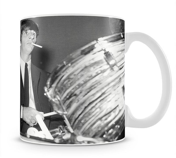 Ringo Starr playing the drums Mug