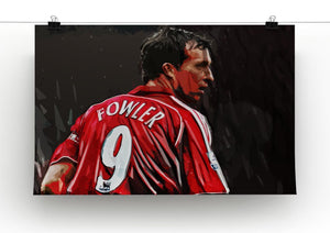 Robbie Fowler Liverpool Canvas Print - Canvas Art Rocks - 2
