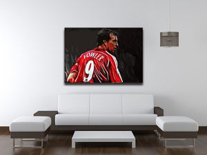 Robbie Fowler Liverpool Canvas Print - Canvas Art Rocks - 4