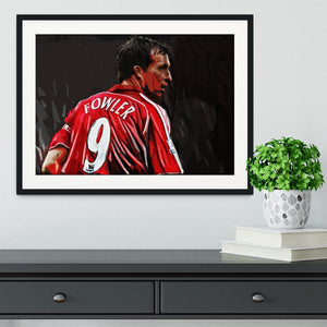 Robbie Fowler Liverpool Framed Print - Canvas Art Rocks - 1