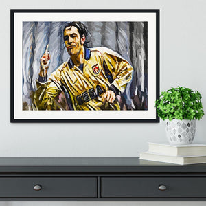 Robert Pires Framed Print - Canvas Art Rocks - 1