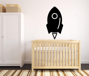 Rocket - Version 2 Wall Sticker - Canvas Art Rocks - 1