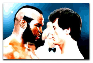 Rocky III Face Off Print - Canvas Art Rocks - 1