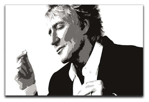 Rod Stewart Canvas Print or Poster  - Canvas Art Rocks - 1