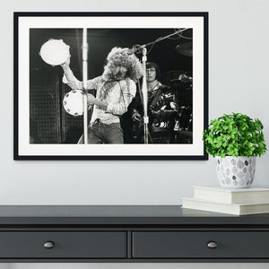 Roger Daltrey and John Entwisle at Tanglewood Music Shed 2 Framed Print - Canvas Art Rocks - 1