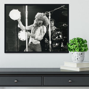 Roger Daltrey and John Entwisle at Tanglewood Music Shed 2 Framed Print - Canvas Art Rocks - 2