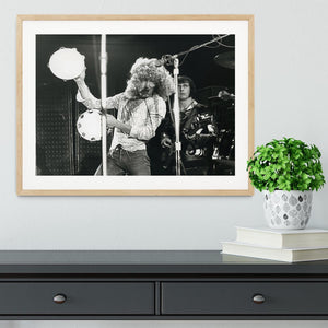 Roger Daltrey and John Entwisle at Tanglewood Music Shed 2 Framed Print - Canvas Art Rocks - 3
