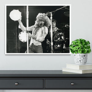Roger Daltrey and John Entwisle at Tanglewood Music Shed 2 Framed Print - Canvas Art Rocks -6