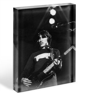Roger Waters Acrylic Block - Canvas Art Rocks - 1