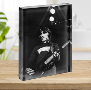 Roger Waters Acrylic Block - Canvas Art Rocks - 2