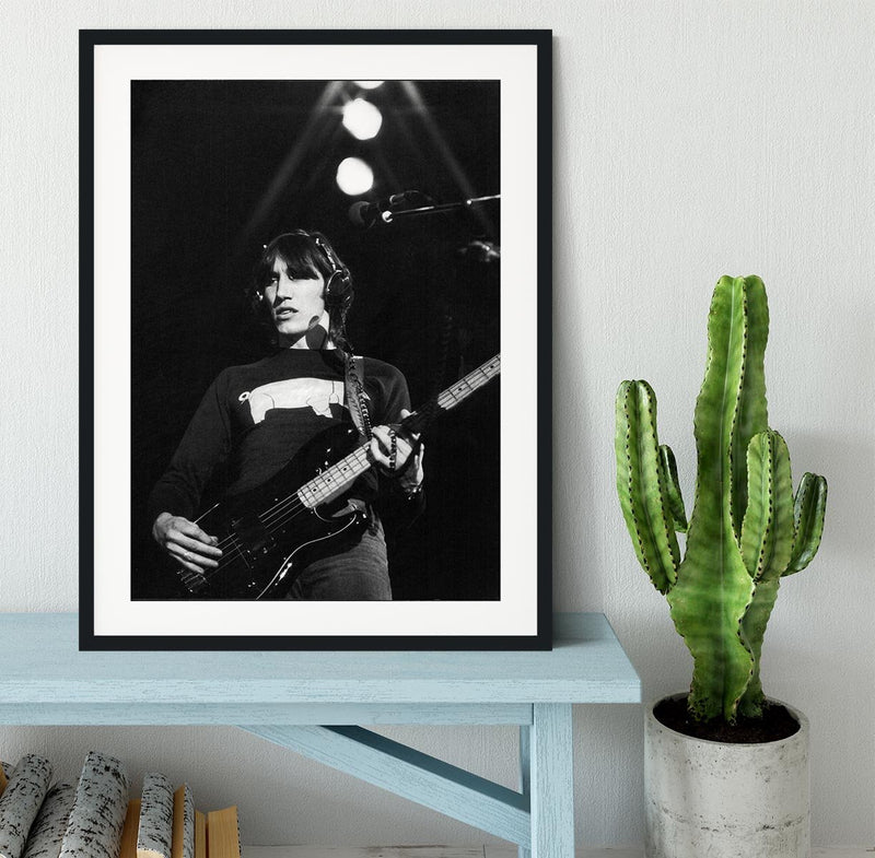Roger Waters Framed Print - Canvas Art Rocks - 1