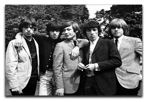 Rolling Stones 1964 Canvas Print or Poster  - Canvas Art Rocks - 1