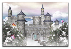 Romantic castle Canvas Print or Poster  - Canvas Art Rocks - 1