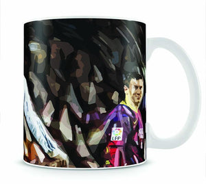 Ronaldo Vs Messi Mug - Canvas Art Rocks - 1
